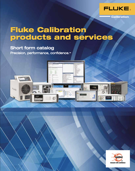 Fluke Calibration Short Form Catalogue 2014