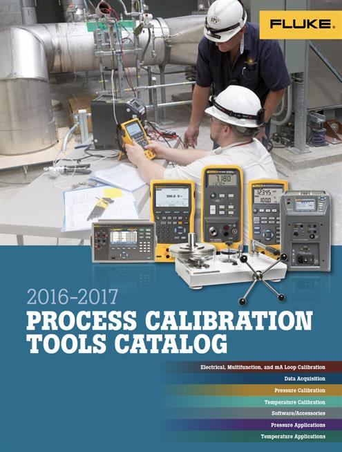 Fluke Process Catalogue 2016- 2017