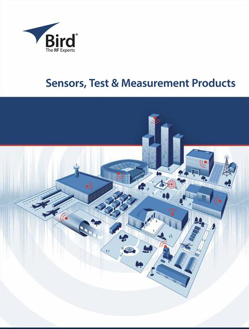 Bird Sensors Test and Measurement Catalogue 2018