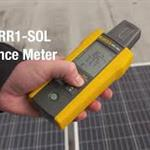 Find Inclination of a Panel with the Fluke Solar Irradiance Meter
